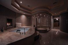 Dream House Interior, Luxury Homes Dream Houses, Dream Home Design, Modern House Design, My Dream Home, Home Interior Design, Dream Bathrooms, Dream Rooms, Bathroom Design Luxury