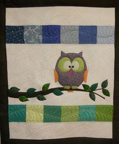 I love that people are sharing my Owl Quilt!