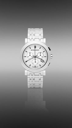 Totally love this ceramic white bracelet watch .... sooo cool!