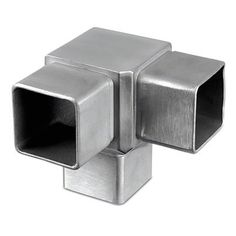 Square Flush 3 Way Corner Square Tube Connector. Flush connection for square tube and handrail. 304 and 316 grade stainless steel, square section. Furniture Makeover, Diy Furniture, Modern Furniture, Furniture Design, Cardboard Furniture, Furniture Plans, Office Furniture, Steel Furniture, Industrial Furniture