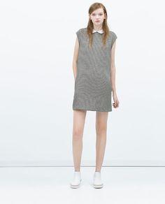 ZARA - WOMAN - DRESS WITH CONTRASTING COLLAR