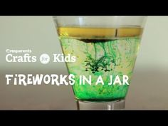 DIY Fireworks in a Jar | Crafts for Kids . PBS Parents | PBS