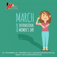 Happy Women's Day 2018..........................  #happywomensday2018 #happywomensday #internationalwomensday #VacationHomeRents