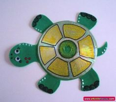 cd turtlr craft idea