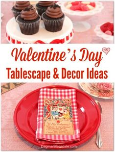 Adorable Valentine's Day tablescape and decor ideas. #Valentinesday #valentines #tablesetting #tabledecor #homedecor #DIY #home #decor #tablescape #diyhomedecor #ideas My Funny Valentine, Valentines Day Party, Valentines Day Decorations, Valentine Gifts, Valentine Ideas, Outdoor Table Settings, Shabby Chic Frames, Sour Candy, Do It Yourself Home