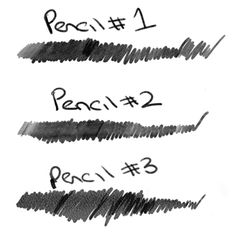 brushes for photoshop realistic pencil brush