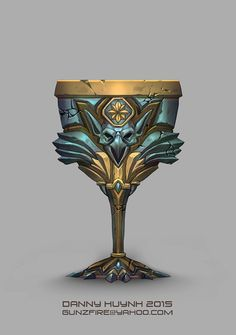 Goblet, Danny Huynh on ArtStation at https://www.artstation.com/artwork/goblet-ec24e239-b3dd-458f-8bc7-347673594c7b