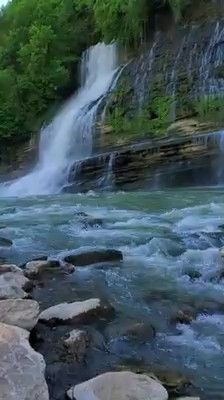 waterfalls in maryland \ maryland waterfalls Beautiful Photos Of Nature, Beautiful Places To Travel, Nature Photos, Beautiful Nature Photography, Nature Videos, Beautiful Landscape Wallpaper, Beautiful Landscapes, Rock Island State Park, Island Park