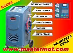 W pełni automatyczna stacja do obsługi klimatyzacji samochodowych importer: www.mastermot.com