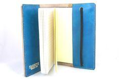 Turquoise Leather Moleskine Journal Cover. $48.00, via Etsy.