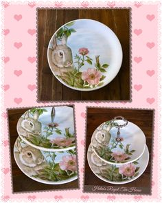 Tiered Cake Stands, Spring Time, Bunny, Easter, Entertaining, Facebook, Tableware, Etsy, Shopping