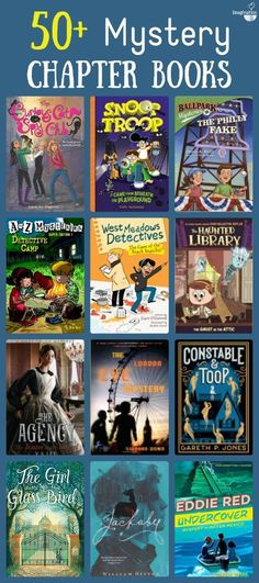 huge list of mystery chapter books for kids More