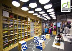 SPORTSWEAR STORES! Reebok Fit Hub store by Trinity Building+Construction, New York store design