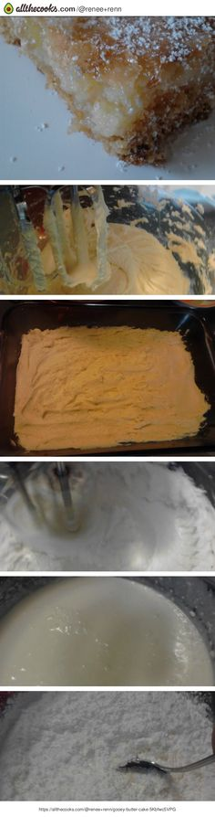 """Gooey Butter Cake! """"omg! so buttery, creamy and delicous!""""  @allthecooks #recipe #dessert #cake #butter #gooey #easy"""