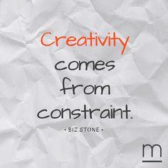 With #creativity we shall overcome! #quote #bizstone #twitter #ventureforth