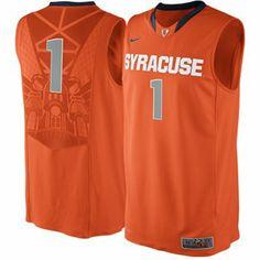 Nike Syracuse Orange #1 Authentic Elite Basketball Jersey
