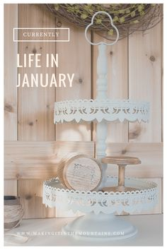 Currently {Life in January} - Making it in the Mountains Diy Storage, Diy Organization, Cool Diy Projects, Projects To Try, Blanc Shabby Chic, Diy Ideas, Decor Ideas, Nautical Bathrooms, Funky Junk