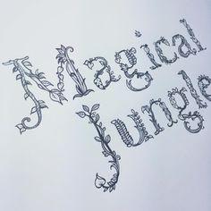 Magical Jungle  De (autor) Johanna Basford