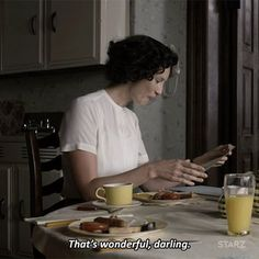 """That's wonderful darling"""