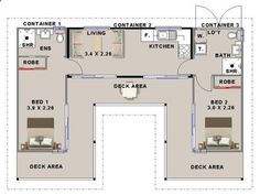 Container House - Container House - Shipping container house floorplan using 3 containers with 2 bedrooms Who Else Wants Simple Step-By-Step Plans To Design And Build A Container Home From Scratch? build-acontainerh... - Who Else Wants Simple Step-By-Step Plans To Design And Build A Container Home From Scratch? - Who Else Wants Simple Step-By-Step Plans To Design And Build A Container Home From Scratch?