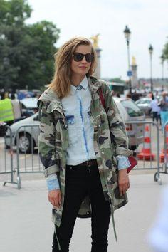 camo jacket Military Inspired Fashion, Camo Fashion, Grunge Fashion, Military Fashion, Fashion Outfits, Military Style, Postpartum Fashion, Camo Jacket, Camouflage Jacket