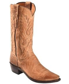 Lucchese 1883 M1008.74 Mens Tan Mad Dog Goat Cowboy Boots #LuccheseSince1883 #CowboyWestern
