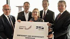Initiativkreis Ruhr kooperiert mit den Unis Duisburg-Essen, Bochum und Dortmund