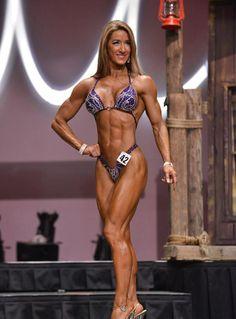 Danielle Kifer 6th Felicia Romero Pro 2014 Fitness Class