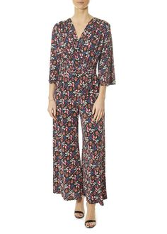 This is the 'Laurie' Demi Sleeve Talia Black Jumpsuit by stunning brand Onjenu. The Laurie is our relaxed 'culotte' style midi-length jumpsuit that comes with a belt that can be used either to enhance the waist or as a neck-scarf. Womens Jumpsuits, Odd Molly, Neck Scarves, Black Jumpsuit, Blue Blouse, London, Sleeves, Clothing, Summer