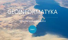 Geoinformatyka - nowa specjalność na kierunku Geodezja i Kartografia! Rekrutacja trwa! http://www.wsig-slupsk.pl/