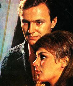 ✿ ❤ Ediz Hun & Hülya Koçyiğit ~ Samanyolu filminde, 1967