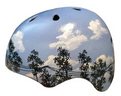 Blue Sky Bike Helmet. Though I love this, I can't imagine spending the money on it. www.bellehelmets.com