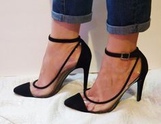 HOW TO WEAR: JEAN CUFFS AND HEELS