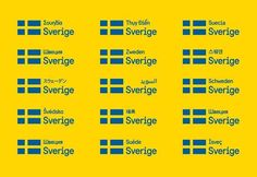 Sweden recently commissioned a team of designers to come up with a font to represent the country on its websites, press releases, tourism brochures and more.  The offices of Soderhavet look exactly the way you would expect a Scandinavian design firm to look: clean, sleek and warm, with tasteful bursts of color sprinkled among the minimalistic furniture.