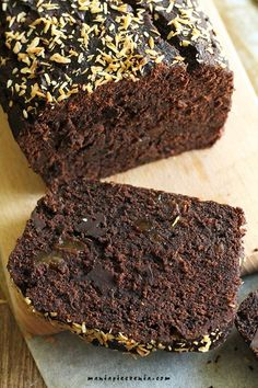 Brownie riche en zinc et no-glo ! Chocolate Banana Bread, Vegan Chocolate, Chocolate Cake, Bread Maker Recipes, Cake Recipes, Homemade Pastries, Gingerbread Cake, Best Brownies, Gluten Free Cakes