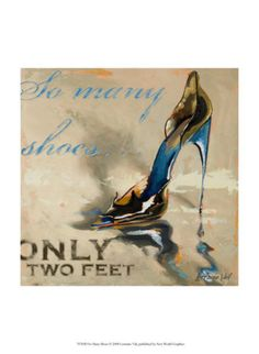 "Shoe Art: ""So Many Shoes, Only Two Feet"""