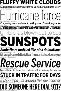 Benton Sans  Alternatives to Franklin Gothic, Trade Gothic, and News Gothic | Typophile