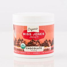 Miss Jones Baking Co - Organic Chocolate Frosting