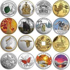 Emisiones Octubre 2016 de la Royal Canadian Mint