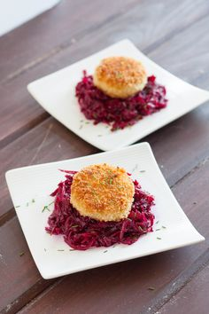 Chopped Challenge: Vienna Sausage Croquettes and Beet Slaw Vienna Sausage, Potato Appetizers, Raw Beets, Cuban Recipes, Dinner Recipes, Sausage Recipes, Sausage Meals, Dessert Cake Recipes, Fresh Chives