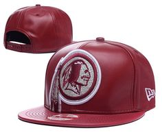 Washington Redskins ALl Leather Snapback Hats 92a55d762