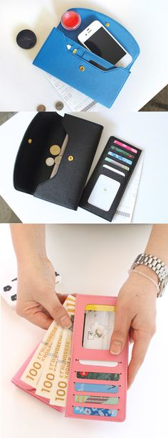 I'm obsessed with the Fiore Del Melo Slim Pouch! It's simple style is luxurious and timeless, and comes in a ton of different colors to match any style or outfit. While compact, there is a detachable card slot, bill slot, zipper pocket, and still room for your phone!