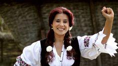 RAMONA FABIAN - CARU` CU MUIERI STRICATE.mpg Folk Music, Ruffle Blouse, Traditional, Women, Places, Fashion, Movies, Moda, Fashion Styles