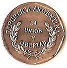 1 Centavo #Argentina - 1993-2000 La più piccola delle monete argentine.