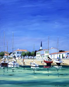 Outre Mer, Philippe, Simple Paintings, Painted Canvas, Acrylic Paintings