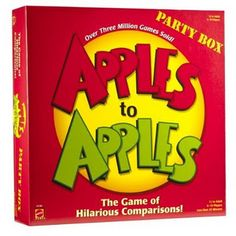 Ideas for using Apples to Apples in the classroom.  Brilliant because I love this game!!
