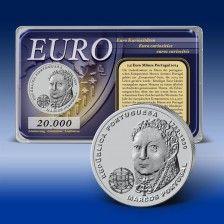 "2,5 Euro- Gedenkmünze Portugal ""Marcos"""