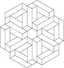 Image result for optical illusion coloring pages free printable