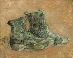 Shoes. Vincent van Gogh             Van Gogh Museum, Amsterdam. 1887