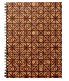 Light blue mosaic tiles notebook $14.35